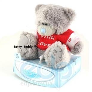 Teddy MTY (мишки) Игрушка плюшевый мишка MTY (Me To You) -  - в красной футболке With Love 7.5 см (арт. G01W1039)