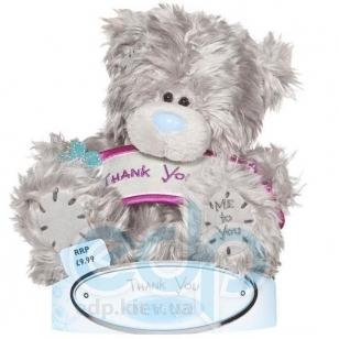 Teddy MTY (мишки) Игрушка плюшевый мишка MTY (Me To You) -  с плакатом Thank You 15 см (арт. G01W1068)