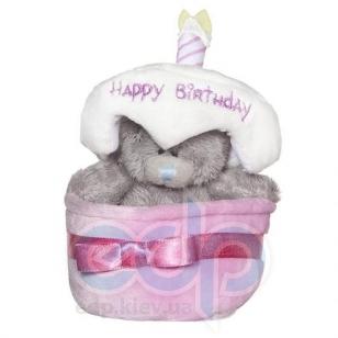 Teddy MTY (мишки) Игрушка плюшевый мишка MTY (Me To You) -  в праздничном торте Happy Birthday 7.5 см (арт. G01W1256)