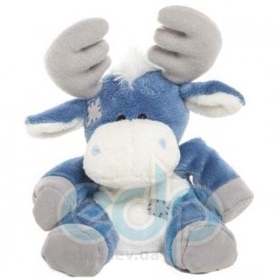 Teddy MTY (мишки) Друзья мишек Teddy Blue Nose -  плюшевый лось 10 см (арт. G73W0035)