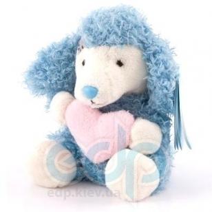 Teddy MTY (мишки) Друзья мишек Teddy Blue Nose -  плюшевый пудель 10 см (арт. G73W0043)