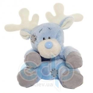Teddy MTY (мишки) Друзья мишек Teddy Blue Nose -  плюшевый полярный олень 10 см (арт. G73W0046)