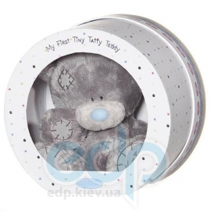 Teddy MTY (мишки) Игрушка плюшевый мишка MTY (Me To You) -  в круглой коробке My 1st Tiny Tatty Teddy 20 см (арт. G92W0001)