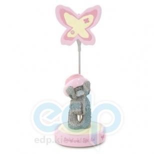 Teddy MTY (мишки) Держатель для фотографии MTY (Me To You) -  мишка в розовой панамке Someone Special (арт. GYR0338)