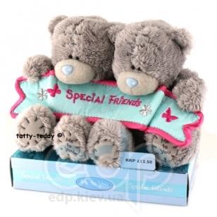Teddy MTY (мишки) Игрушка плюшевый мишка MTY (Me To You) -   Special Friend 10 см (два мишки) (арт. GYW1294)
