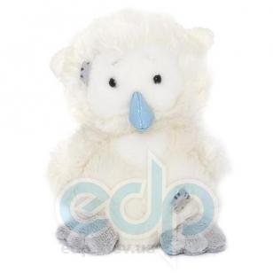 Teddy MTY (мишки) Друзья мишек Teddy Blue Nose -  плюшевая полярная сова 10 см (арт. GYW1818)