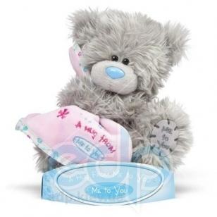 Teddy MTY (мишки) Игрушка плюшевый мишка MTY (Me To You) -  с одеялом A hug from Me to You 15 см (арт. GYW1846)