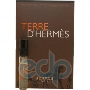 Terre dHermes - туалетная вода -  пробник (виалка) 2 ml