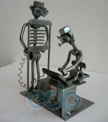 Hinz and Kunst (cтатуэтки) Статуэтки Hinz and Kunst (Германия) - На рентгене - 20 x 13 см. (металл)