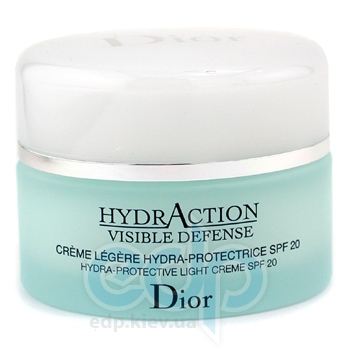 Christian Dior -  Face Care HydrAction Visible Defense Hydra Protectives Light Cream SPF20 -  50 ml