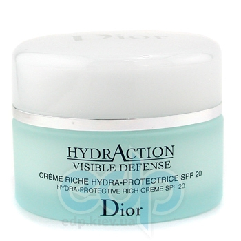 Christian Dior -  Face Care HydrAction Visible Defense Hydra Protective Rich Cream SPF20 -  50 ml