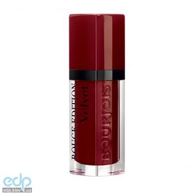 Bourjois - Жидкая матовая помада Rouge Edition Velvet Lipstick №19 Jolie de vin - 6.7ml