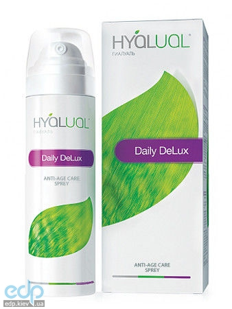Institute Hyalual - Антивозрастной спрей Daily DeLux anti-age care spray 0.0144 - 50 ml