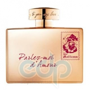 John Galliano Perlez-Moi dAmour Gold Edition - туалетная вода - 80 ml TESTER