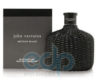 John Varvatos Artisan Black - Набор (туалетная вода 125 ml + гель для душа 75 ml + лосьон-молочко для тела 75 ml + сумка)