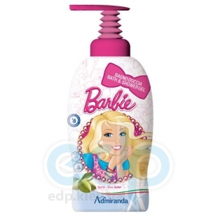 Admiranda - Гель-пена для душа с экстрактом масла ши Barbie - 1000 ml (арт. AM 7255)