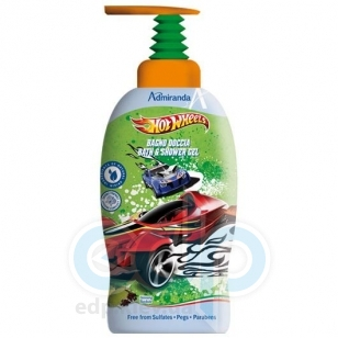 Admiranda - Гель-пена для душа с экстрактом женьшеня Hot Wheels - 1000 ml (арт. AM 72591)