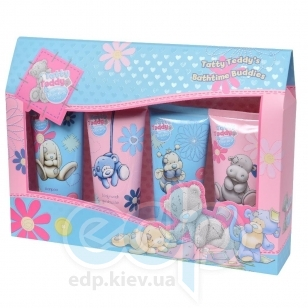 Grace Cole - Набор Tatty Teddys Bathtime Buddies (гель для душа 100 ml + лосьон для тела 100 ml + шампунь для волос 100 ml + пена для ванны 100 ml)