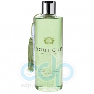 Grace Cole - Гель-пена для душа Boutique Bath & Shower Gel Grapefruit Lime & Mint - 500 ml