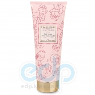 Grace Cole - Лосьон для тела Floral Collection Body Cream White Rose & Lotus Flower - 240 ml