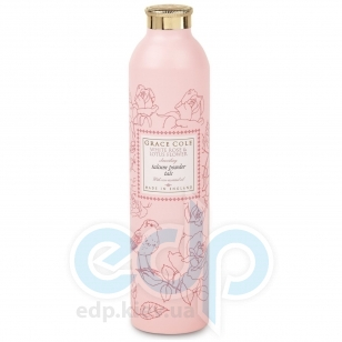 Grace Cole - Тальк для тела Floral Collection Talcum Powder White Rose & Lotus - 200 g