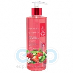Grace Cole - Мыло для рук Hand Wash Strawberry & Kiwi - 500 ml