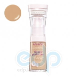 Bourjois - Крем тональный для лица выравнивающий Flower Perfection 55 Темно-бежевый - 30 ml