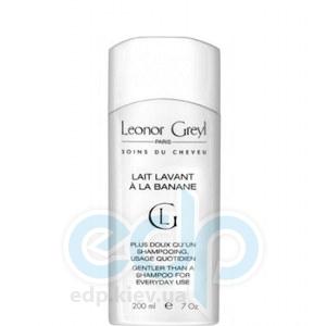 Leonor Greyl -  Нежный шампунь с экстрактами банана для жирных тонких волос Lait Lavant Banane -  200 ml