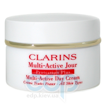 Clarins -  Face Care Protection Plus Multi-Active Day Cream ( All Skin ) -  50 ml