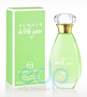Sergio Tacchini Always With You - туалетная вода - 50 ml