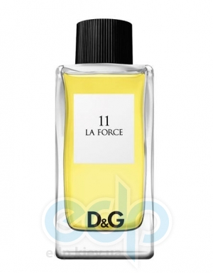 Dolce Gabbana Anthology La Force 11 - туалетная вода - 100 ml TESTER