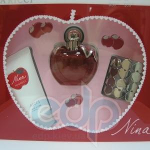 Nina Ricci Nina -  Набор (туалетная вода 50 + лосьон-молочко для тела 50 + браслет)