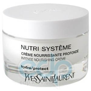 Yves Saint Laurent -  Face Care Nutri System Intense Nourishing Cream -  50 ml