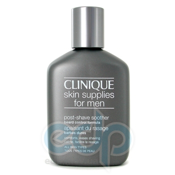 Clinique -  Men Skin Supplies For Men Post Shave Soother Beard Control Formula -  75 ml