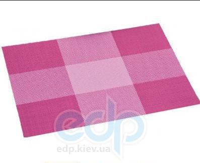 Kesper - Салфетка термостойкая из пластика красные квадраты 43 х 29 х 0.1 см (арт. 77560)