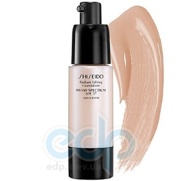 Shiseido - Крем тональный для лица с эффектом лифтинга для всех типов кожи Radiant Lifting Foundation SPF 15 № I40 - 30 ml