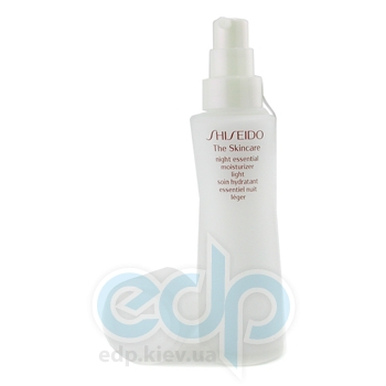Shiseido -  Skincare Night Essential Moisturizer Light -  75 ml
