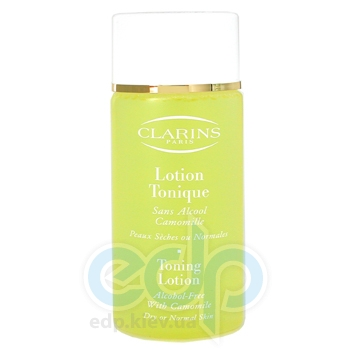 Clarins -  Face Care Toning Lotion Dry Skin -  200 ml