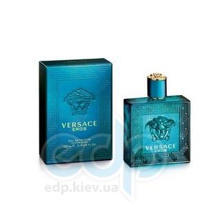 Versace Eros - Набор (туалетная вода 5 ml + гель после бритья 25 + гель для душа 25)