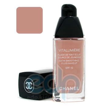 Тональный крем Chanel -  Vitalumiere Satin Smoothing Fluid Makeup №45 Rose