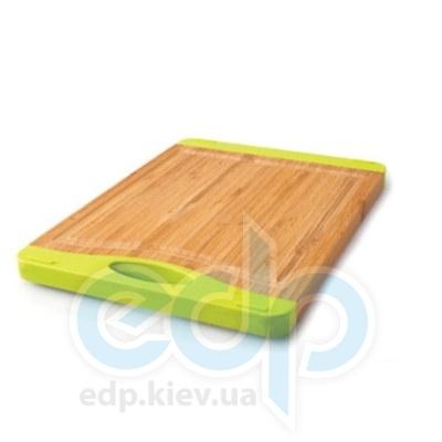 Berghoff -  Разделочная доска профессиональная 40х30 см (бамбук. ручки -  силикон) (арт.1101590)