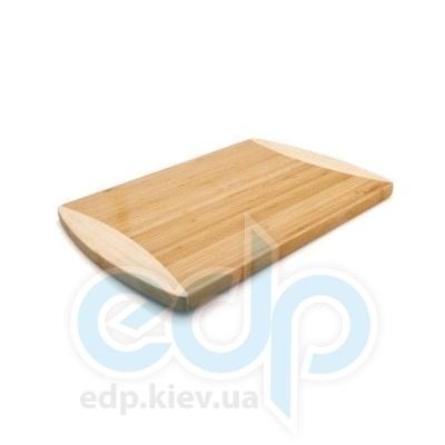 Berghoff -  Разделочная доска прямоугольная 35х25 см (бамбук ручки -  силикон) (арт.1101606)