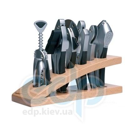 Berghoff -  Набор для бара в деревянной подставке Squalo -  7 предметов (арт. 1107363)