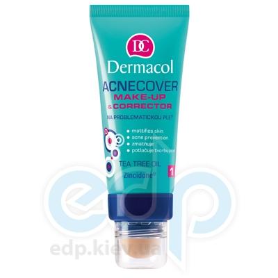 Dermacol Acnecover Make-up and Corrector Тональный крем крем із Корректором для проблемної кожи № 1 - 33 ml (16907)