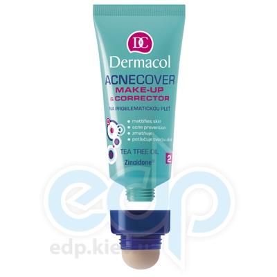 Dermacol Acnecover Make-up and Corrector Тональный крем крем із Корректором для проблемної кожи № 2 - 33 ml (16908)