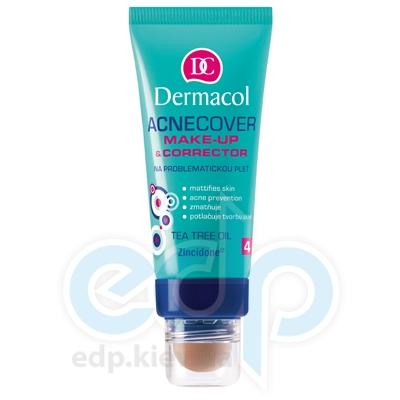Dermacol Acnecover Make-up and Corrector Тональный крем крем із Корректором для проблемної кожи № 4 - 33 ml (16910)