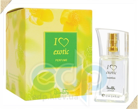 Dzintars (Дзинтарс) - Духи I love exotik - 12 ml (14860dz)