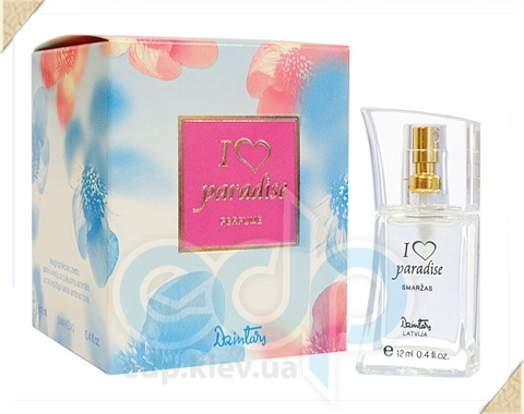 Dzintars (Дзинтарс) - Духи I love paradise - 12 ml (14870dz)