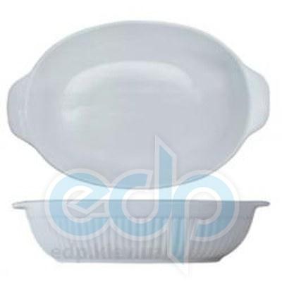Berghoff -  Овальная фарфоровая форма для выпечки Bianco -  43х27х9 см (арт. 1691053)