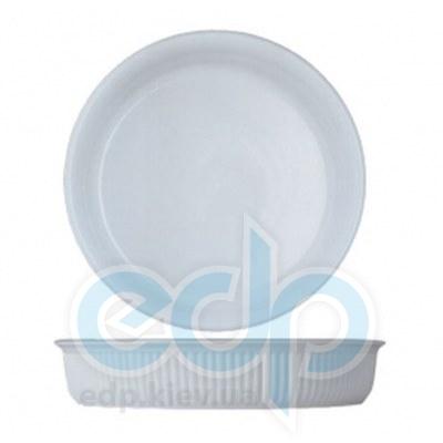 Berghoff -  Круглая фарфоровая форма для выпечки Bianco -  диаметром 24 см высотой 5.5 см (арт. 1691091)